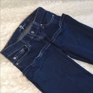7 For All Mankind Jeans - 7 for all mankind Sz 26 skinny boot cut jeans